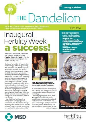 July 2014 Dandelion Newsletter