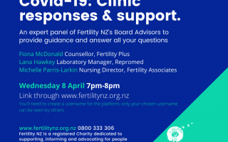 Fertility NZ to host multi-clinic Covid-19 event