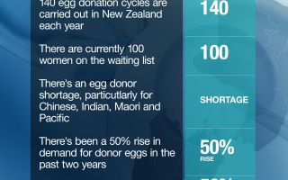 Shortage of Egg Donors in New Zealand